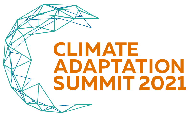 Logo van de Climate Adaptation Summit 2021