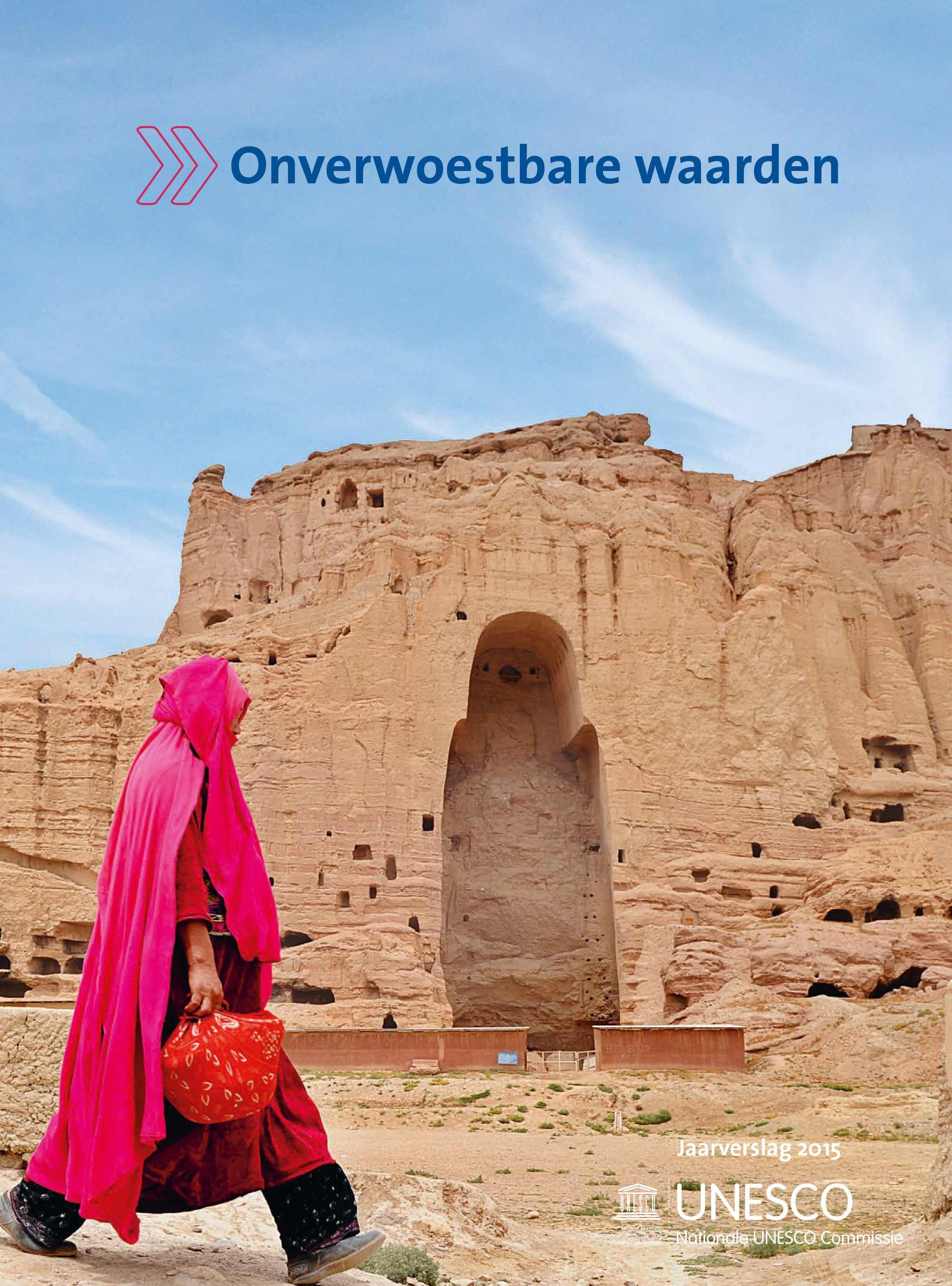Cover jaarverslag Unesco Commissie 2015
