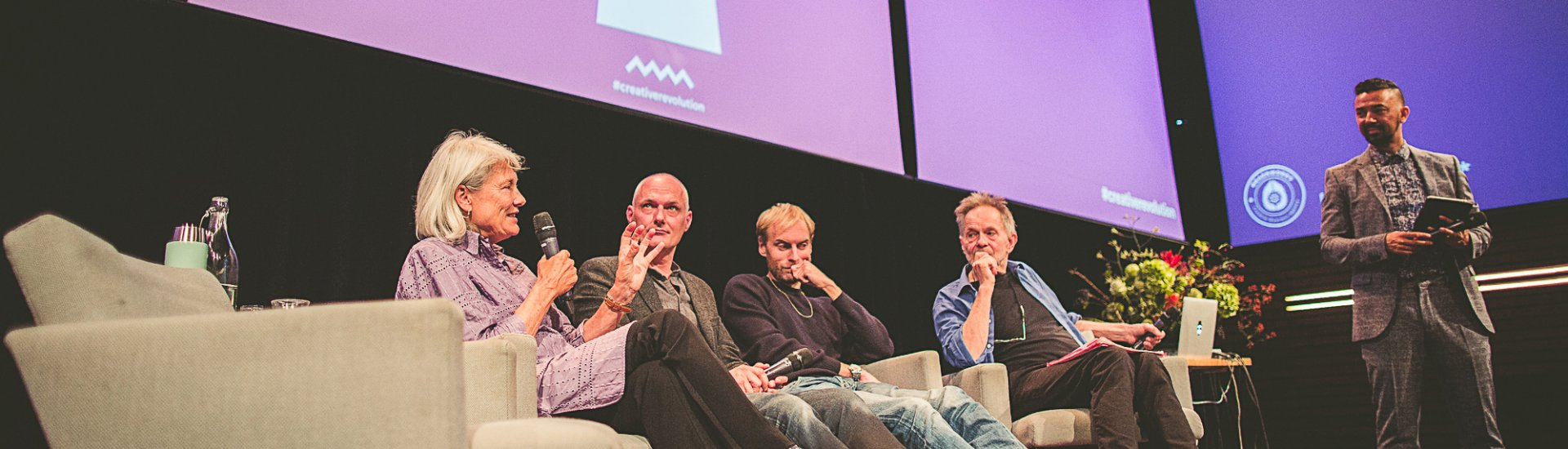 Paneldiscussie tijdens de kickoff van #CreativeRevolution (Foto: 'Brand New Guys')