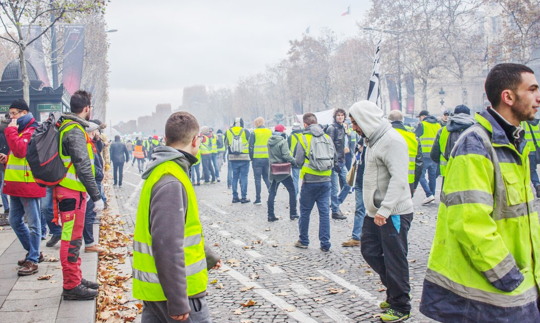 Protesten van de 'Gele Hesjes' in Parijs. (Foto: NightFlightToVenus | CC/Flicker.com)
