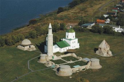 Historisch en archeologisch complex Bolgar.