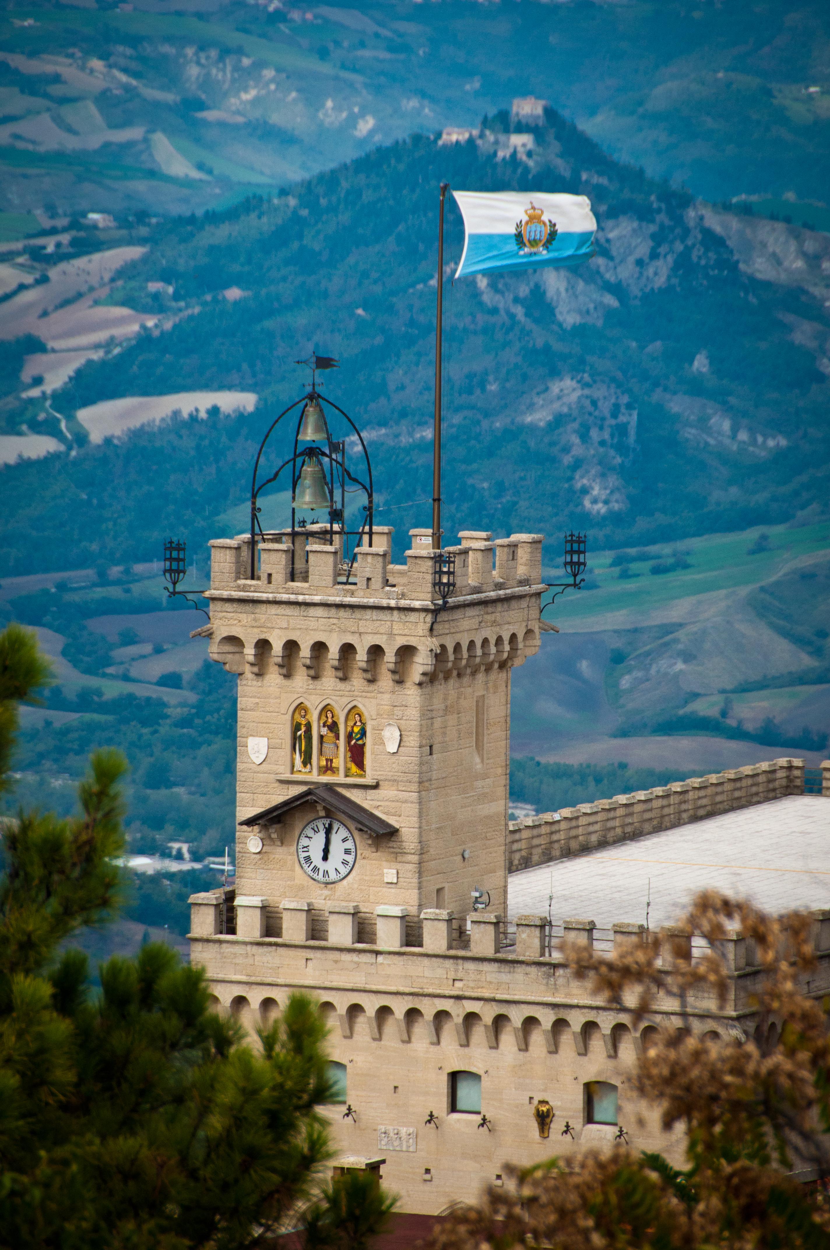 Historisch centrum van San Marino en de berg Titano Unesco Commissie