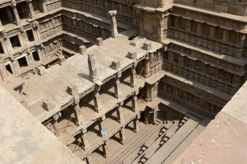 1000 year old Bawadi in Patan, Gujarat. (Foto: CC/Flickr.com | indiawaterportal.org)
