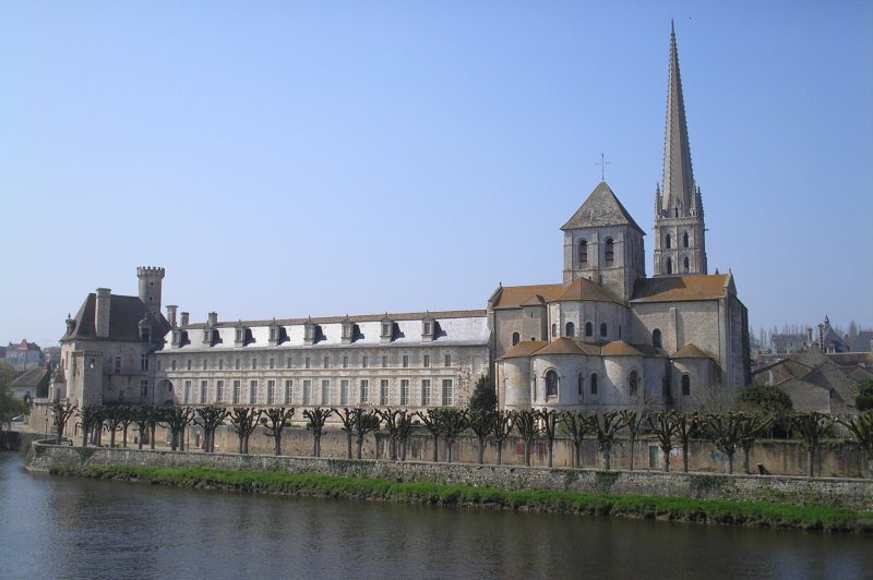 Abbey of Saint-Savin sur Gartempe. (Foto: CC/Flickr.com | j.a.holland)