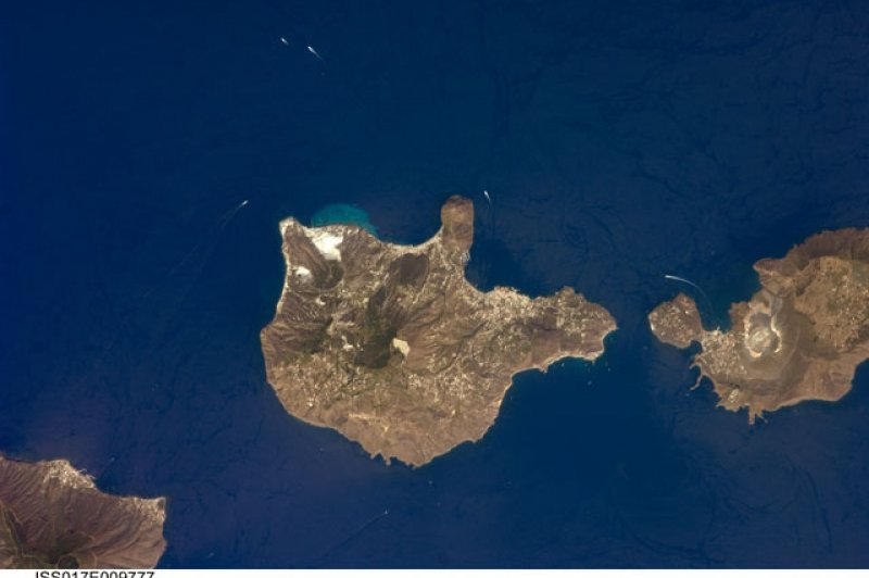 Aeolian Islands, Italy NASA, International Space Station Science, 06 24 08 . (Foto: CC/Flickr.com | NASA's Marshall Space Flight Center)