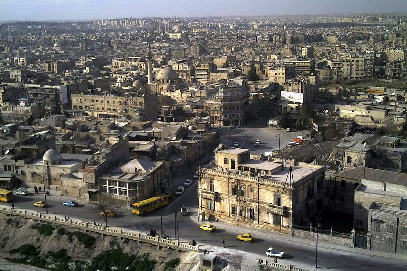 Aleppo as seen from its citadel. (Foto: CC/Flickr.com | syrialooks)