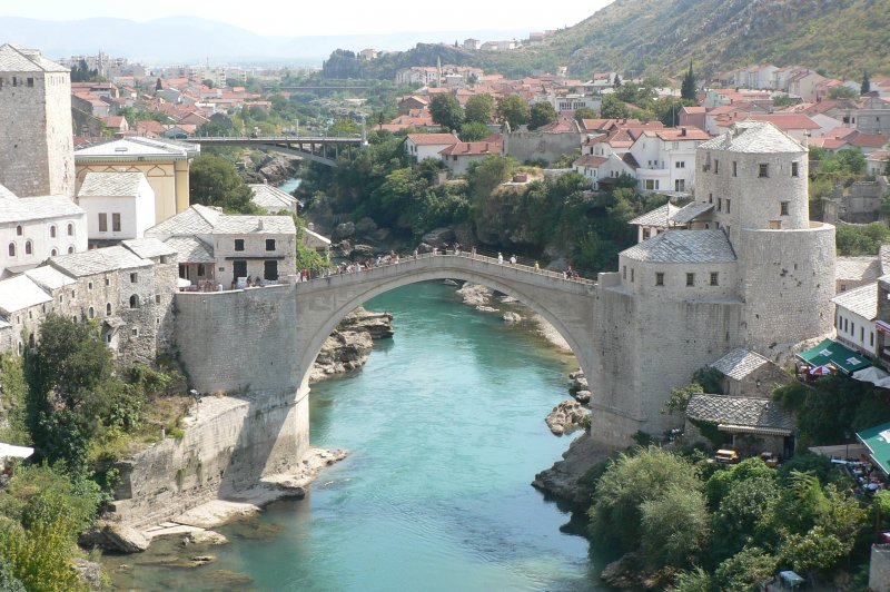 Another Picture of the Mostar Bridge. (Foto: CC/Flickr.com | Alistair Young)