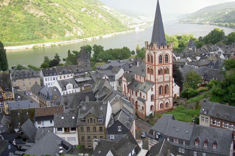 Bacharach and the Rhine. (Foto: CC/Flickr.com | Bill Rand)