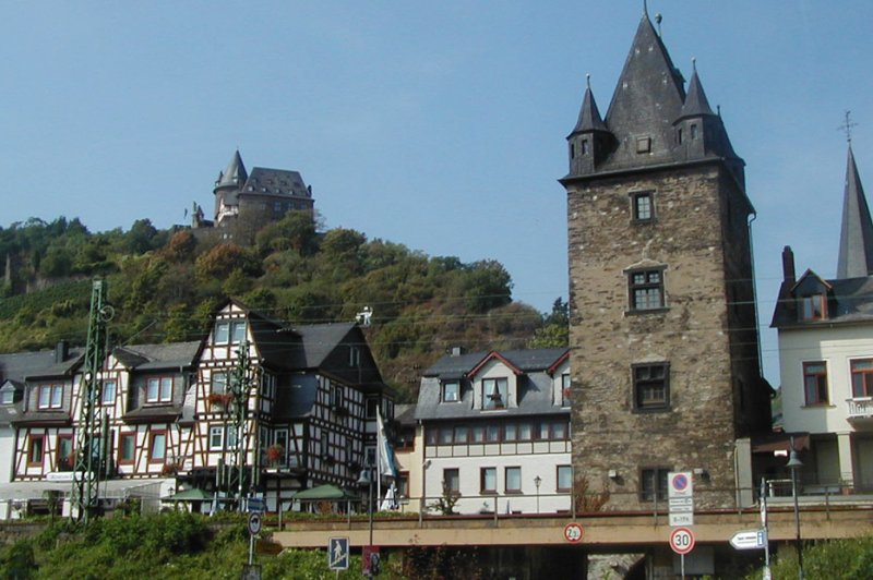 Bacharach from Rhine. (Foto: CC/Flickr.com | Roger W)