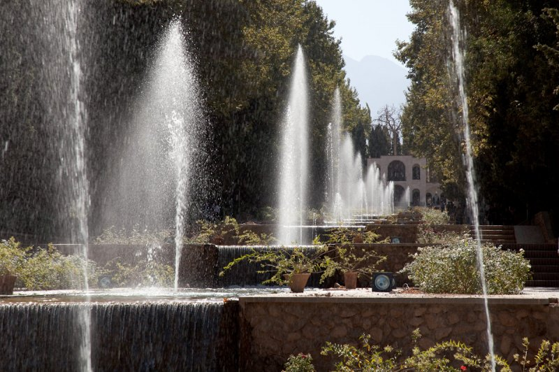 Bagh-e Shahzadeh fountains. (Foto: CC/Flickr.com | Erwin Bolwidt)