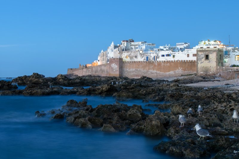 Blue hour on Essaouira. (Foto: CC/Flickr.com | Fougerouse Arnaud)