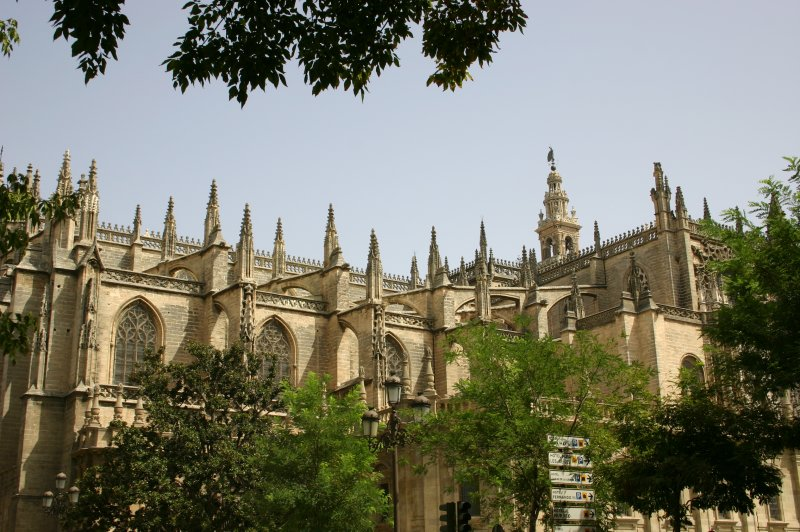cathedral in seville. (Foto: CC/Flickr.com | Michael Hilton)
