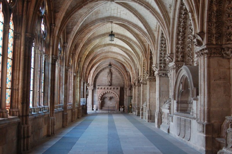 Cloister, Burgos Cathedral. (Foto: CC/Flickr.com | Stephen McParlin)