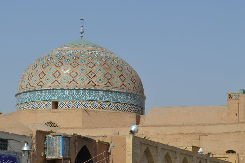 Dome of the Mausoleum of Seyyed Roknaddin Mohammad Qazi. (Foto: CC/Flickr.com | Alan Cordova)