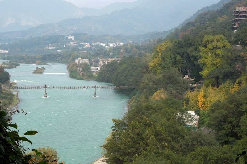 Dujiangyan Irrigation Project. (Foto: CC/Flickr.com | Michael Tyler)