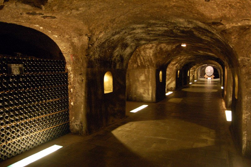 Epernay Champagne Moet Chandon Cave. (Foto: CC/Flickr.com | giulio nepi)