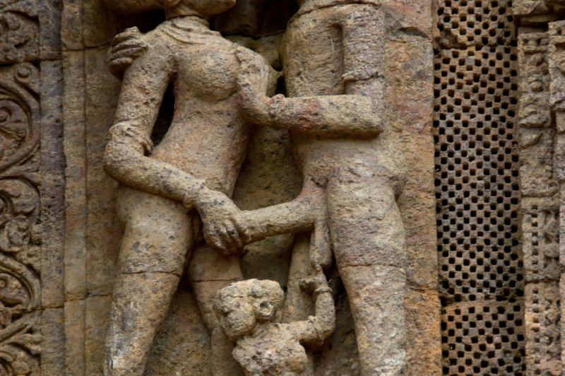 Erotic sculpture at Konark. (Foto: CC/Flickr.com | Damien Roué)