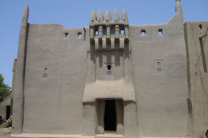 Facade in town of Djenne Mali . (Foto: CC/Flickr.com | Erwin Bolwidt)