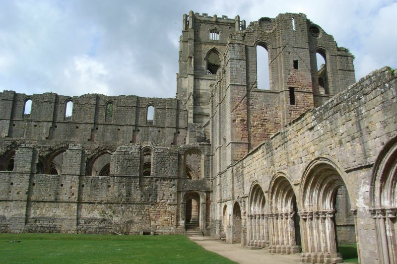 Fountains Abbey 44 . (Foto: CC/Flickr.com | Steampunk Pharaoh)