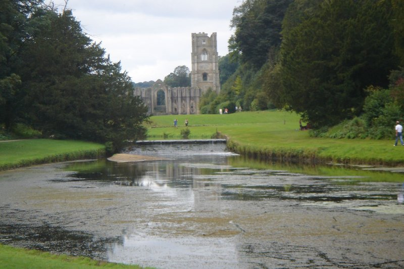 Fountains Abbey and Studley Royal. (Foto: CC/Flickr.com | Reinhold Behringer)