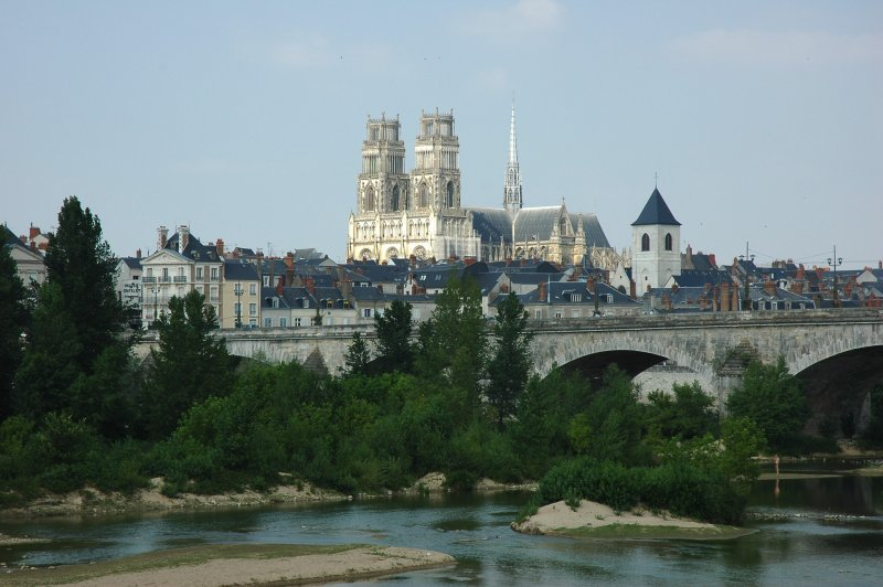 France_Loiret_Orleans_Pont_Georges_V_Cathedrale_01. (Foto: CC/Flickr.com | calips96)