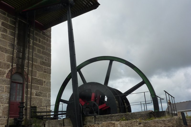Giant wheel attached to the beam engine. (Foto: CC/Flickr.com | Beth)