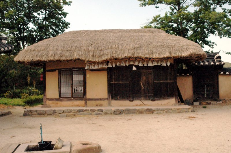 Hahoe Thatched House. (Foto: CC/Flickr.com | John Lloyd)
