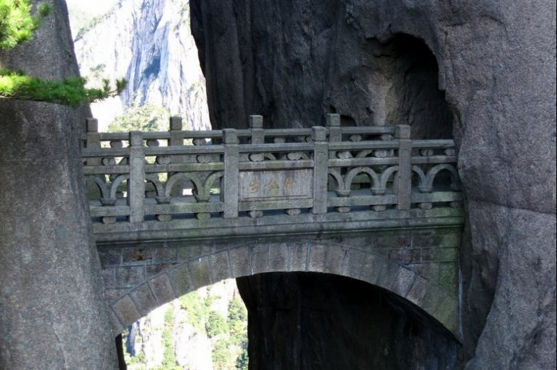 Huangshan - Fairy-walking Bridge . (Foto: CC/Flickr.com | Kwong Yee Cheng)