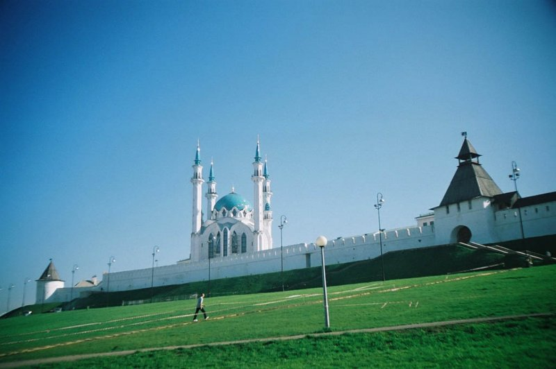 Mosque in the Kazan Kremlin. (Foto: CC/Flickr.com | Geoff Sowrey)