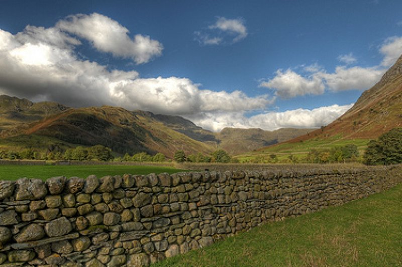Oxendale, Mickleden and Langdale Fell from head of Langdale Valley. (Foto: CC/Flickr.com | BoblyP)
