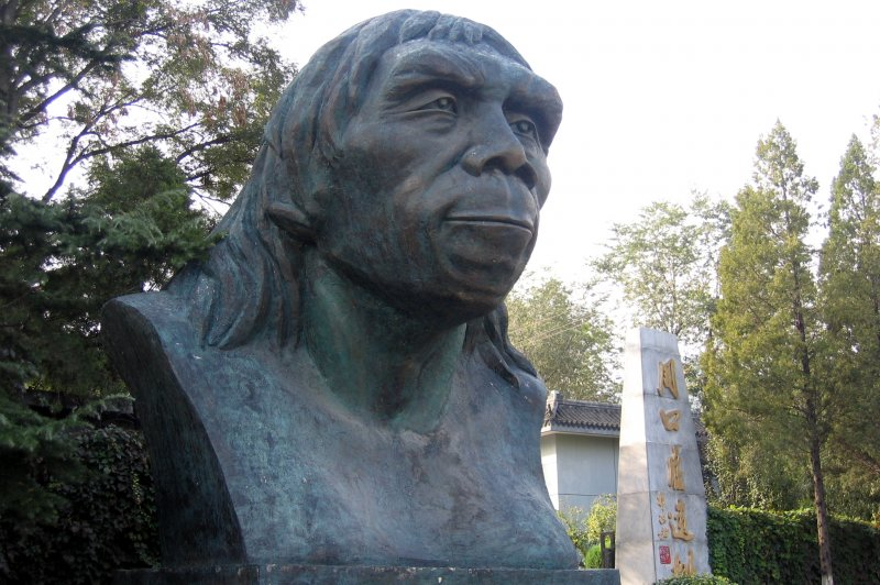 Peking Man at Zhoukoudian. (Foto: CC/Flickr.com | Scott Sherrill-Mix)