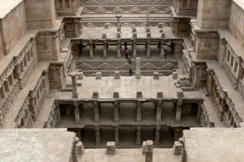 Rani ki Vav- The Queen's Stepwell at Patan, Gujarat. (Foto: CC/Flickr.com | indiawaterportal.org)