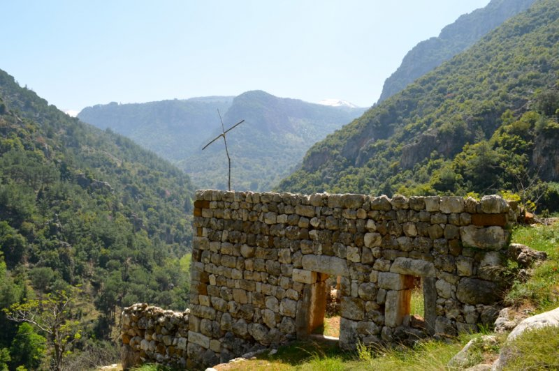Ruins of Monastery, Qadisha Valley, Lebanon. (Foto: CC/Flickr.com | Melissa  Wall)