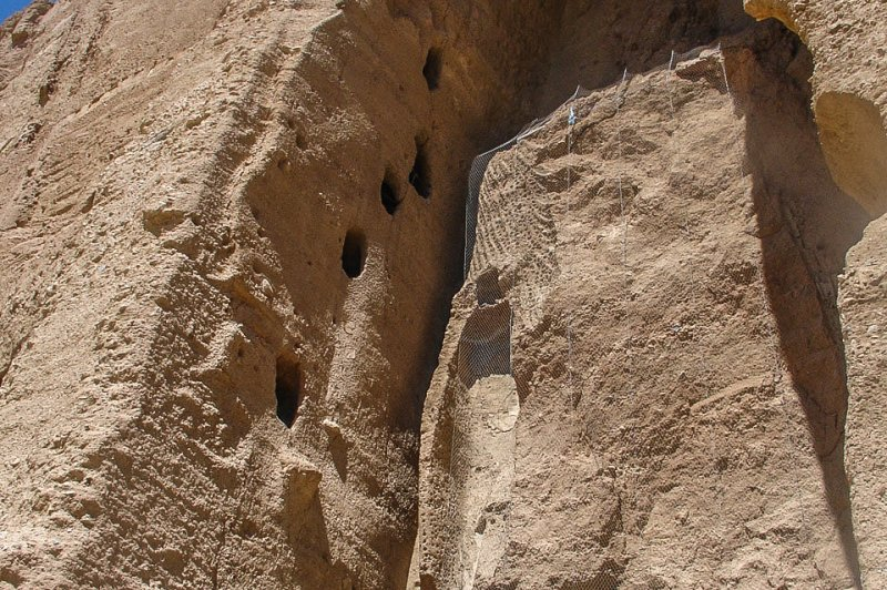 Ruins of the Smaller Buddha of Bamiyan Afghanistan. (Foto: CC/Flickr.com | Hadi Zaher)