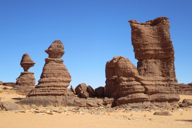 Sandstone Pinnacles. (Foto: CC/Flickr.com | David Stanley)