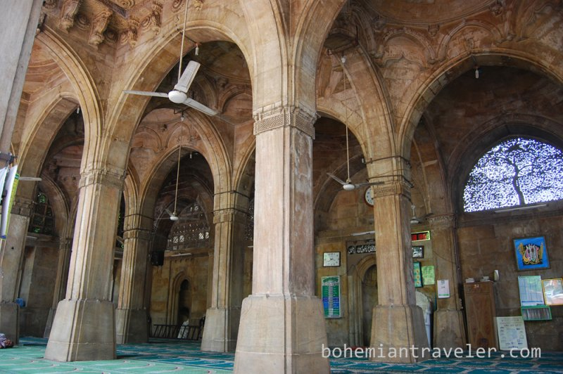Siddi Sayid s Mosque 1573 Ahmedabad India. (Foto: CC/Flickr.com | Stephen Bugno)