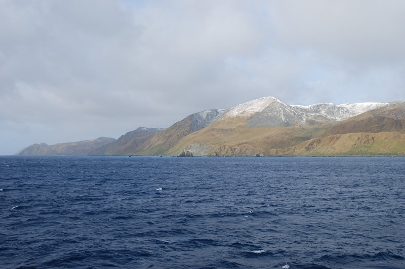 Snow on Macquarie Island. (Foto: CC/Flickr.com | Natalie Tapson)