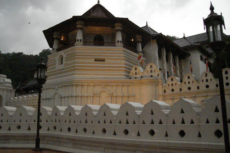 Temple of the Sacred Tooth Relic,Kandy, Sri Lanka. (Foto: CC/Flickr.com | Thushil Perera)
