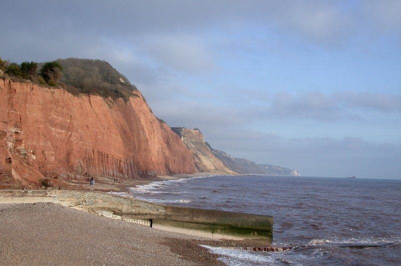 The Jurassic coast of East Devon - looking east from Sidmouth. (Foto: CC/Flickr.com | Clive A Brown)