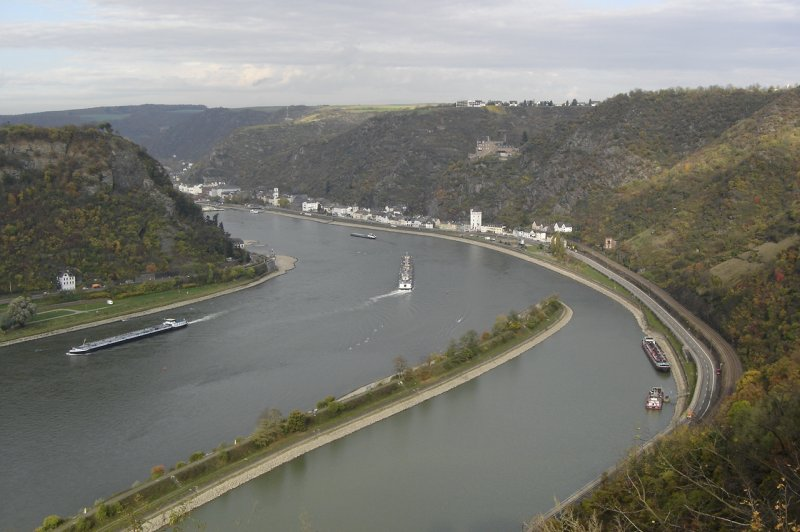 The Rhine from the top of the Loreley. (Foto: CC/Flickr.com | harry_nl)