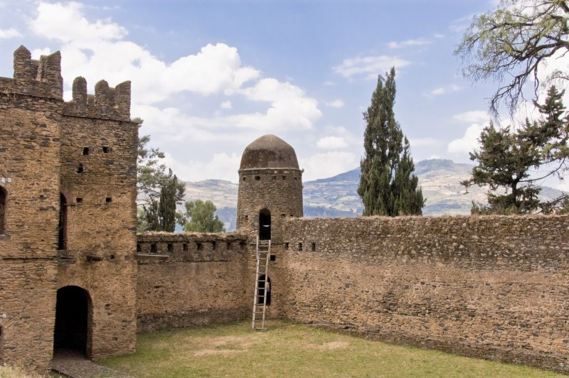 The Ruins at Gondar, Ethiopia. (Foto: CC/Flickr.com | A.Davey)