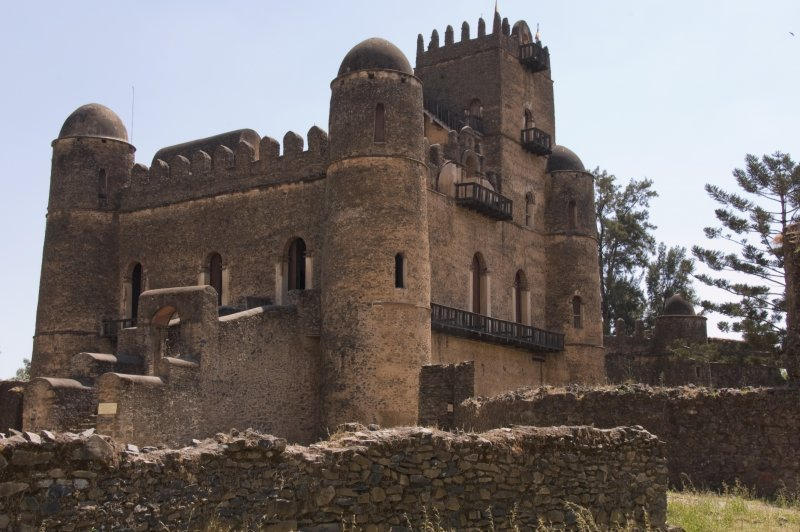 The Ruins at Gondar, Ethiopia - Fasilides' Castle. (Foto: CC/Flickr.com | A.Davey)