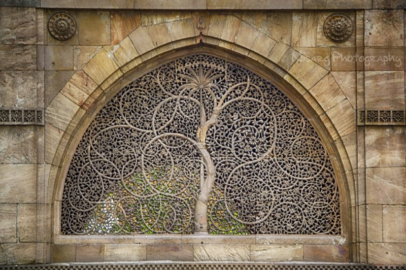 The Sidi Sayed Mosque in Ahmedabad. (Foto: CC/Flickr.com | Nisarg Lakhmani)