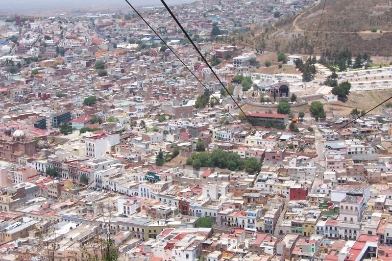 Zacatecas from above. (Foto: CC/Flickr.com | Tobin)