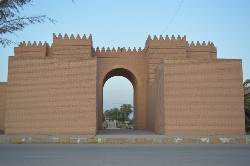 De Marduk-poort. (© Qahtan Al-Abeed | whc.unesco.org/en/documents/166719)